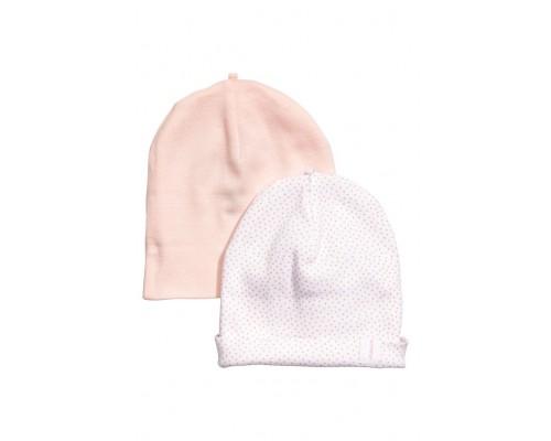 Комплект из двух шапок для девочки